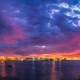 Port Blue Sunset