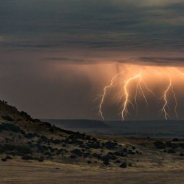 Chapman Valley Lightening